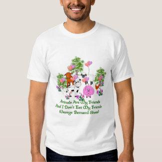 G. B. Shaw Vegetarian Quote T Shirt