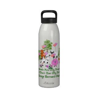 G B Shaw Vegetarian Quote Water Bottles