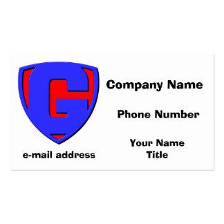 G BUSINESS CARD TEMPLATE