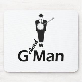G chord Man Mouse Pad