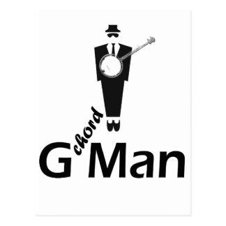 G chord Man Post Card