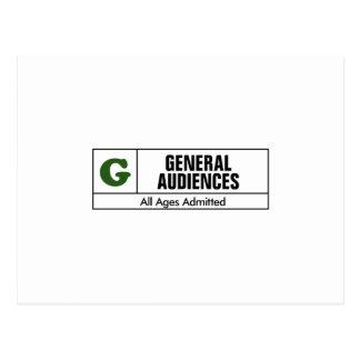 G clasificado postal
