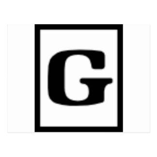 G clasificado, sistema de calificación postal
