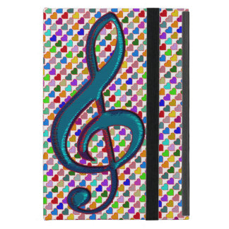 G clef cute lovely music iPad mini cover