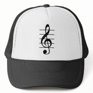 G clef hat