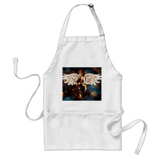 G Clef with Wings Adult Apron