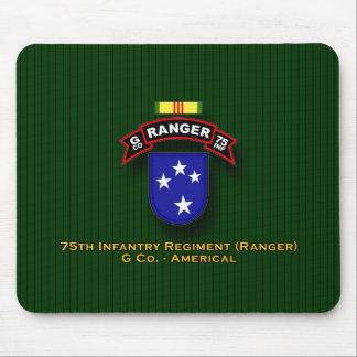G Co, 75.a infantería - guardabosques - 23d Div -  Tapete De Ratón
