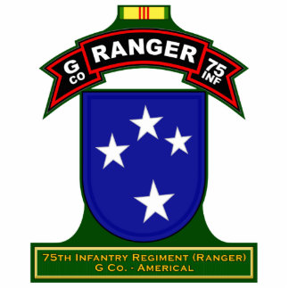 G Co, 75th Infantry Regiment - Ranger, Vietnam Statuette