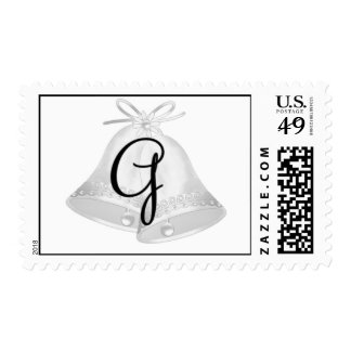 (G) con monograma del sello de Belces de boda
