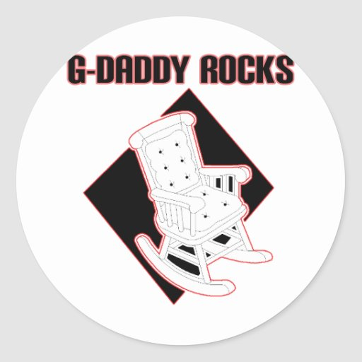 G-Daddy Rocks Sticker
