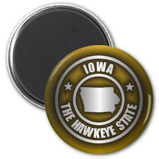 """(G) de acero de los imanes de """"Iowa"""" Imán Redondo 5 Cm"""