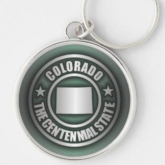 """(G) de acero de los llaveros de """"Colorado"""""""