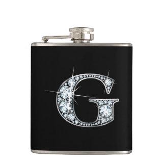 """G """"Diamond Bling"""" Flask"""