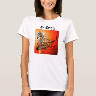 "G-Dogg ""Gold Mic Tee"" T-Shirt"