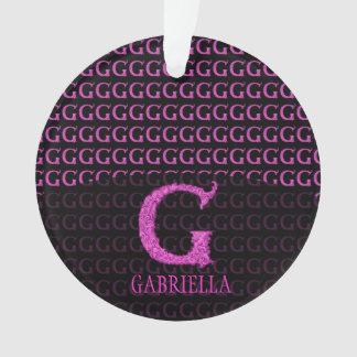 G- El alfabeto de Falck (rosa)