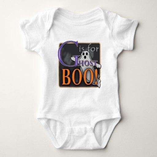 ¡G está para el ABUCHEO del fantasma! Body Para Bebé