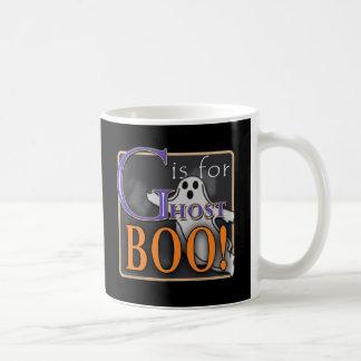 ¡G está para el ABUCHEO del fantasma! Taza De Café