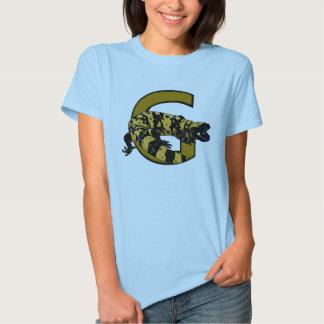 ¡G está para el monstruo del Gila! (colores claros Playeras