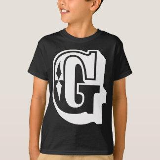 """""""G"""" está para Gangsta - camiseta de la letra del"""