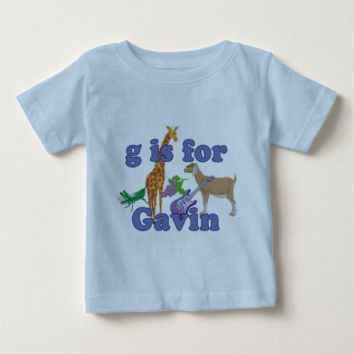 G está para Gavin Polera