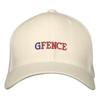 G FENCE EMBROIDERED BASEBALL HAT