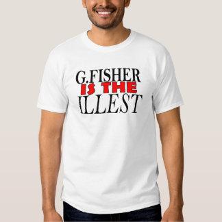 G.Fisher es la camiseta más illest Remera