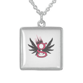 G - For Girl Necklace - Sterling Silver