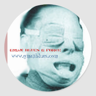 G-force 1 1/2 Sticker