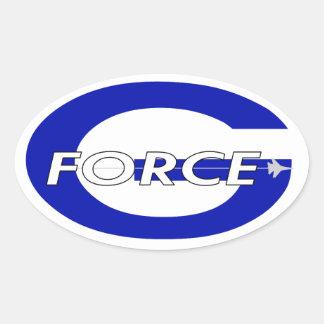 G Force Royal Oval Sticker