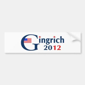 G / Gingrich 2012 (v104) Car Bumper Sticker