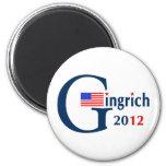 G / Gingrich 2012 (v104) Fridge Magnet