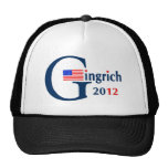 G/Gingrich 2012 (v104) Gorros Bordados