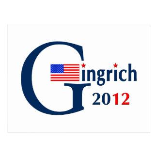 G / Gingrich 2012 (v104) Postcard