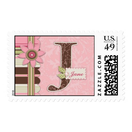 G Girl Stamp J