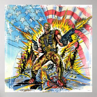 G.I. clásico Joe Posters