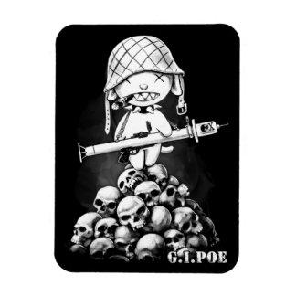 G.I. Poe - Un héroe real del zombi - imán