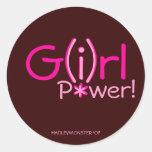 G(i)rl P*wer! Stickers