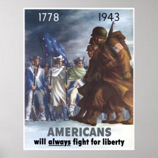 G.I.s and Minutemen -- Border Print