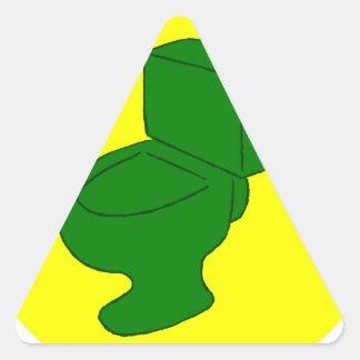 G.I.T.S. Green Latrine Triangle Sticker