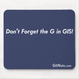 G In GIS Mousepad