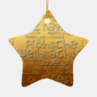 G International Weihnachten Navidad Star Ornament