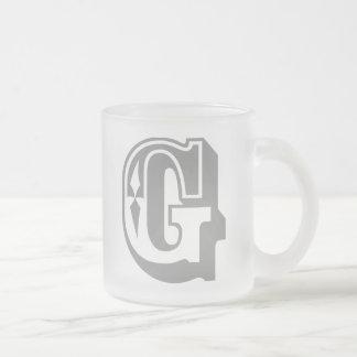 G is for Gangsta - Alphabet Letter Tee Mugs