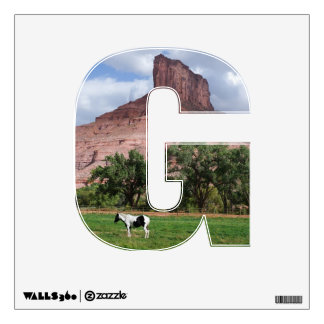 G is for Gateway Wall Sticker
