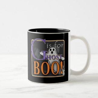 G Is For Ghost BOO! Coffee Mug