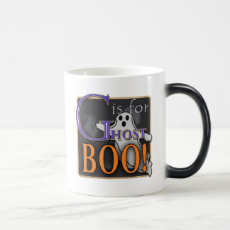G Is For Ghost BOO! 11 Oz Magic Heat Color-Changing Coffee Mug
