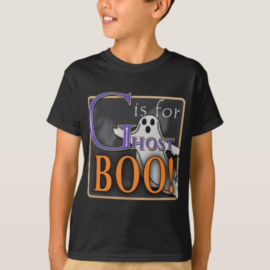 G Is For Ghost BOO! T-Shirt