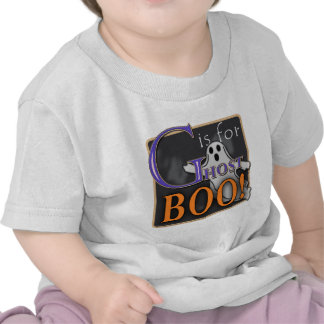 G Is For Ghost BOO! Tee Shirts