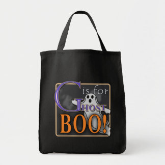 G Is For Ghost BOO! Tote Bag