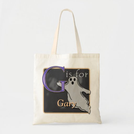 G Is For Ghost G Is For Gary Budget Tote Bag