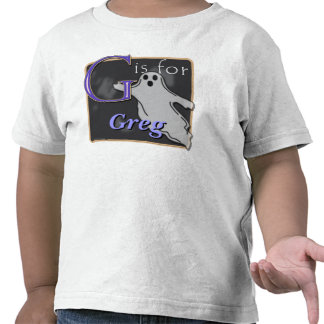 G Is For Ghost G Is For Greg T Shirt